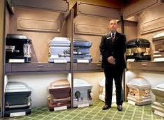 Selecting a casket